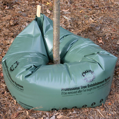BlueStone Garden - Ooze Tube Drip Irrigation Tree Watering Bags - 35 Gallon