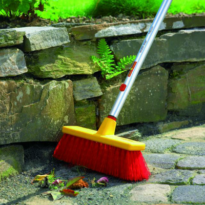 Brooms - WOLF-Garten Large Utility Broom B40M- BlueStoneGarden