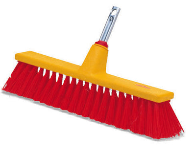Interlocken® Large Utility Push Broom