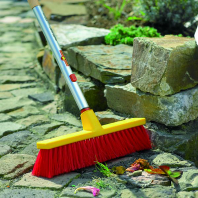 Push Brooms - WOLF-Garten Large Utility Push Broom - BlueStoneGarden