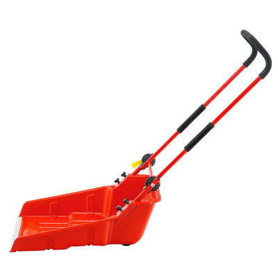WOLF-Garten Snow Pusher with Wheels - BlueStone Garden