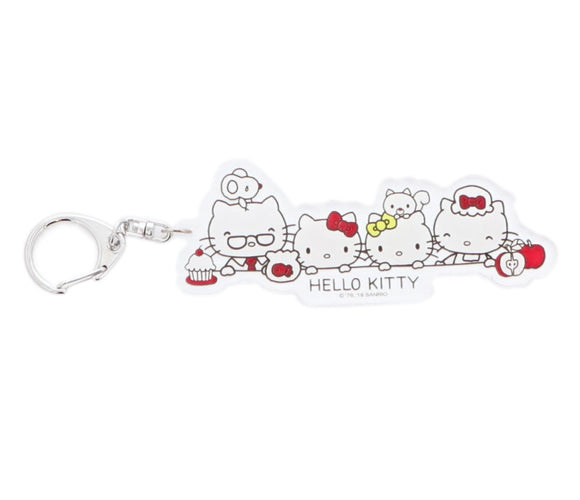 SANRIO LLAVERO TOUCH HELLO KITTY - BLANCO