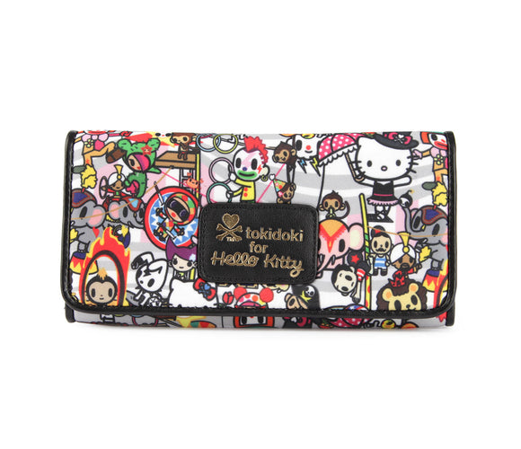 TOKIDOKI BILLETERA LARGA CIRCUS HELLO KITTY - MULTICOLOR