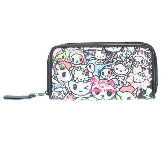 TOKIDOKI BILLETERA LARGA HELLO KITTY - MULTICOLOR