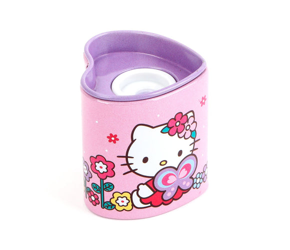 SANRIO SACAPUNTAS BUTTERFLY HELLO KITTY - ROSADO