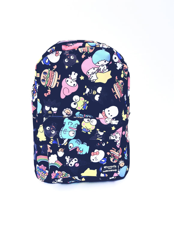 LOUNGEFLY MOCHILA FRIENDS HELLO KITTY - NEGRO