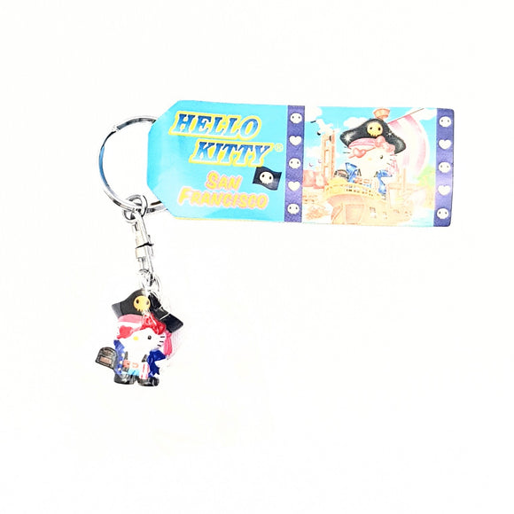 SANRIO LLAVERO SAN FRANCISCO PIRATE HELLO KITTY - AZUL