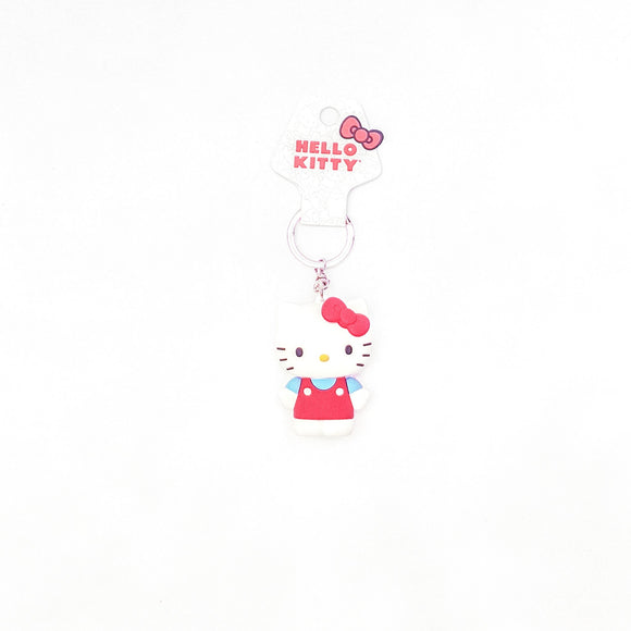 SANRIO LLAVERO 3D HELLO KITTY - BLANCO