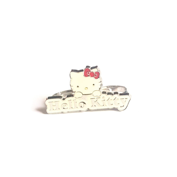 SANRIO ANILLO FACE HELLO KITTY - BLANCO