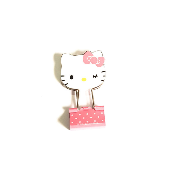 SANRIO CLIPS FACE HELLO KITTY - ROSADO