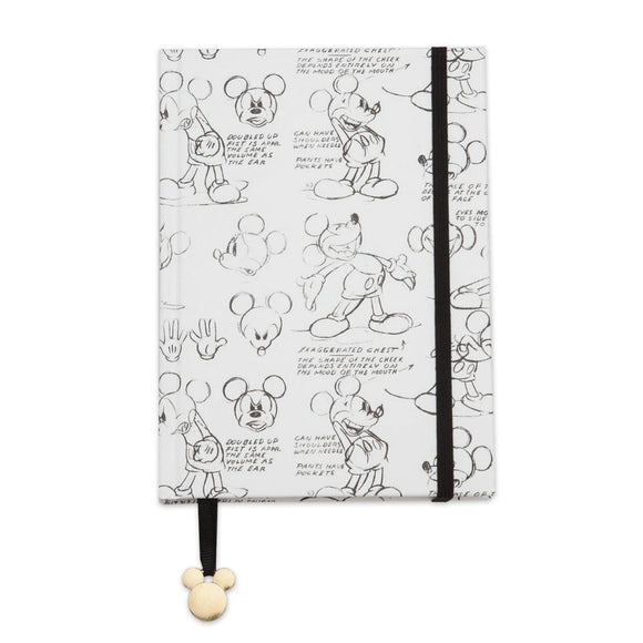 DISNEY CUADERNO B6 MICKEY MOUSE - BLANCO