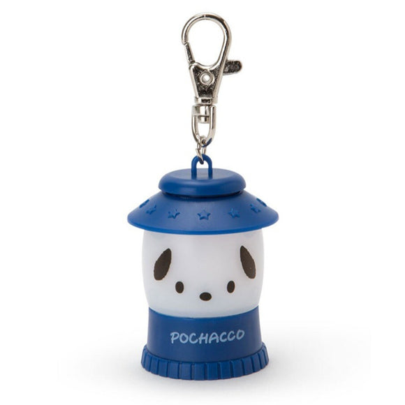 SANRIO LLAVERO MINI LINTERNA LIGHT HOLDER POCHACCO - AZUL