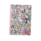 TOKIDOKI CUADERNO B6 HELLO KITTY - MULTICOLOR