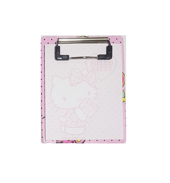 SANRIO MINI CLIPBOARD FUN STAT HELLO KITTY - ROSADO