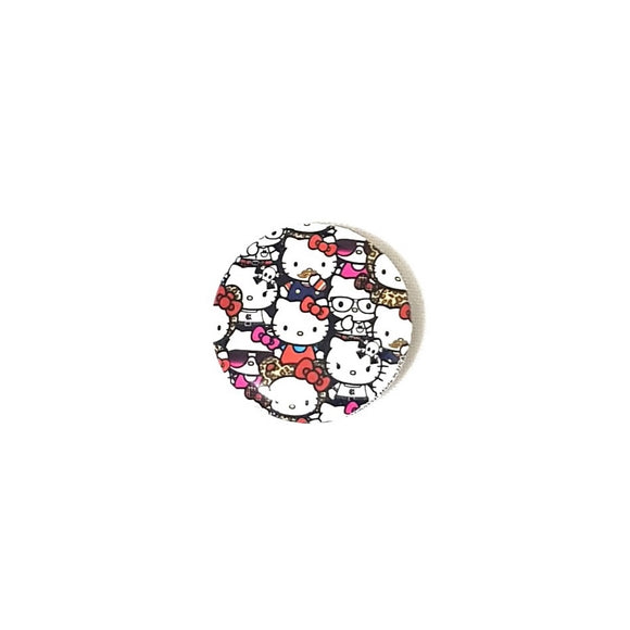 LOUNGEFLY PIN FACE HELLO KITTY - MULTICOLOR