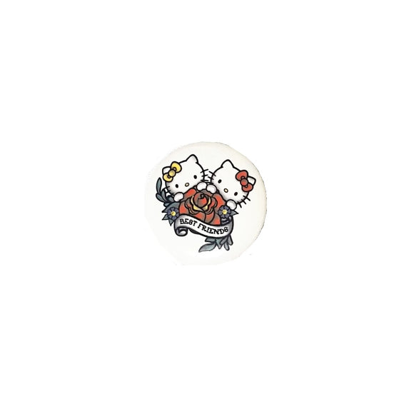 LOUNGEFLY PIN FLOWER HELLO KITTY - MULTICOLOR