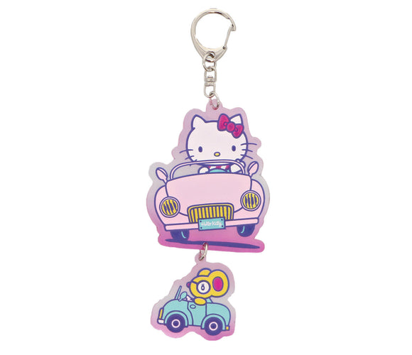 SANRIO LLAVERO VACATION HELLO KITTY - ROSADO
