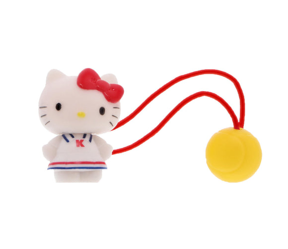 SANRIO LIGA PARA EL CABELLO TENNIS HELLO KITTY - BLANCO