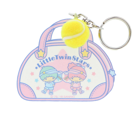 SANRIO LLAVERO TENNIS LITTLE TWIN STARS - ROSADO