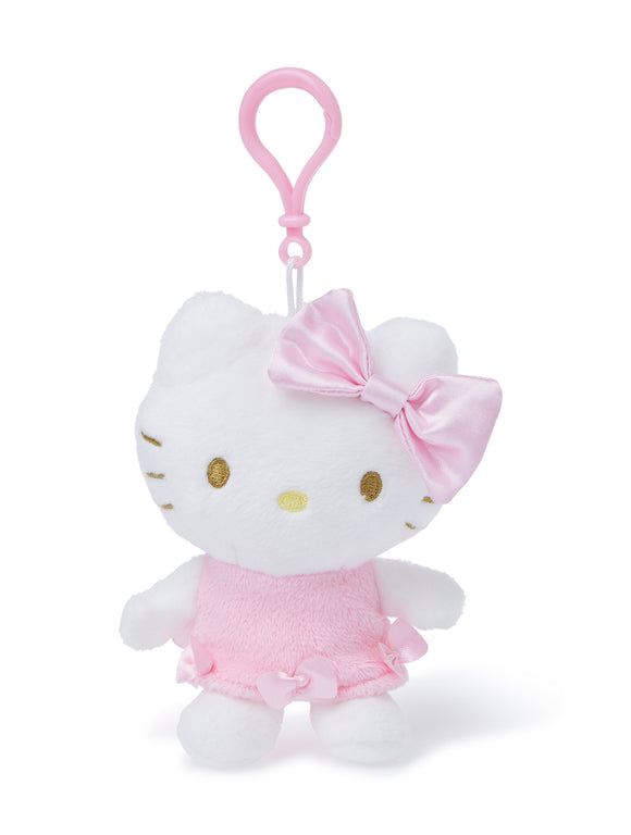 SANRIO LLAVERO MASCOT CLIP ON REVERSIBLE UNICORNIO HELLO KITTY - BLANCO