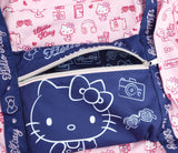SANRIO MALETIN VACATION HELLO KITTY - ROSADO