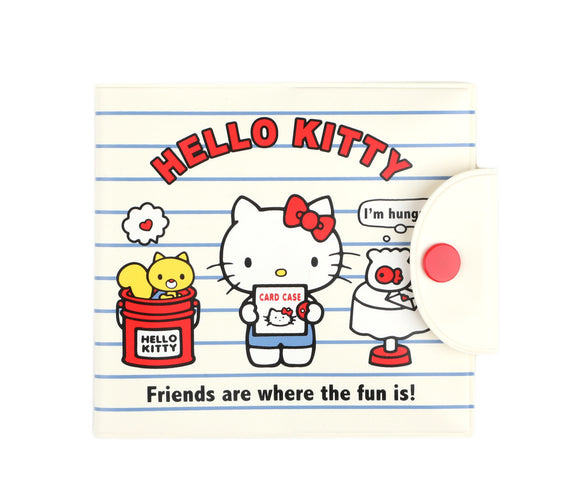 SANRIO BILLETERA CASE ID TARJETAS FRIENDS HELLO KITTY - BLANCO
