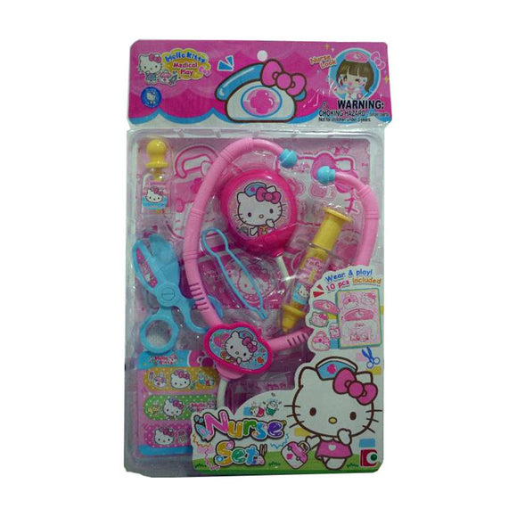 SANRIO SET DE ENFERMERA HELLO KITTY - ROSADO
