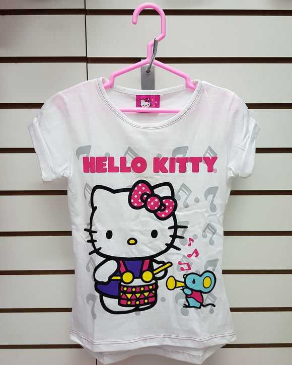 INTERTEX POLO TAMBOR HELLO KITTY - BLANCO