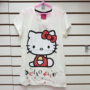 INTERTEX POLO JUNIOR HELLO KITTY - CREMA