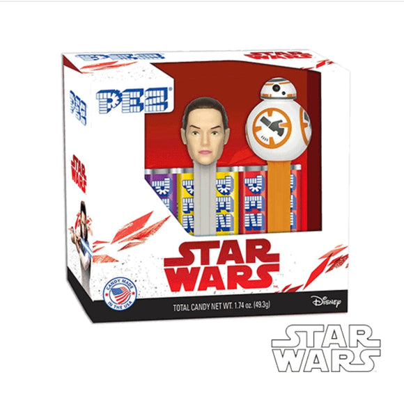 STAR WARS PEZ DISPENSADOR DE CARAMELOS EN SET STAR WARS - MULTICOLOR