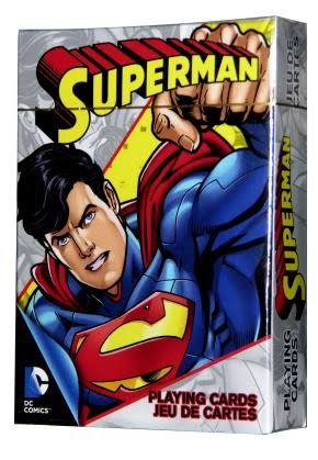 DC COMICS JUEGO DE CARTAS SUPERMAN - MULTICOLOR