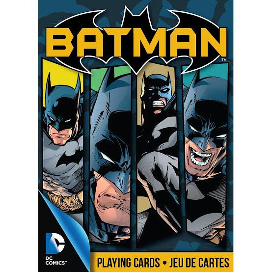 DC COMICS JUEGO DE CARTAS BATMAN - MULTICOLOR
