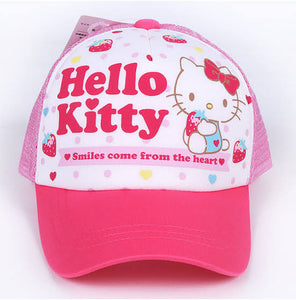 SANRIO GORRO STRAWBERRY HELLO KITTY - ROSADO