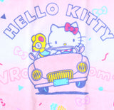SANRIO TOALLA DE MANO VACATION HELLO KITTY - ROSADO