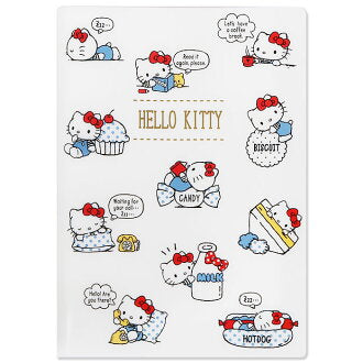SANRIO FILE PORTA DOCUMENTOS A6 HELLO KITTY - CREMA