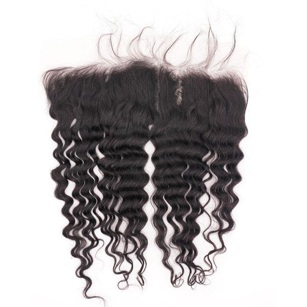Deep Wave HD Lace Frontal - Booji Beauty Bundles
