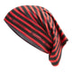 Cadoudal Neck Warmer - Red & Black Stripe