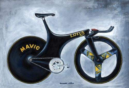 Lotus Superbike of Chris Boardman, 1992 Barcelona Olympic Gold