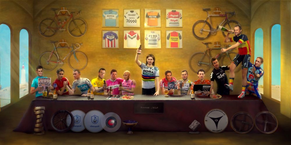 THE LAST SUPPER: CYCLING LEGENDS