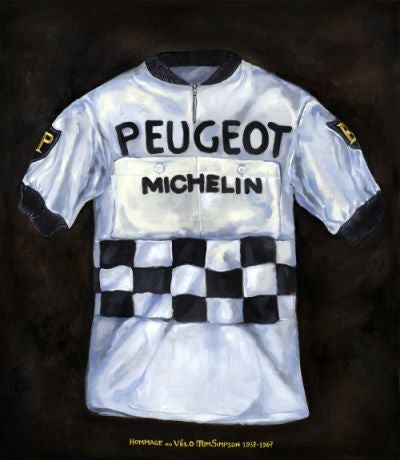 Peugeot Jersey of Tom Simpson