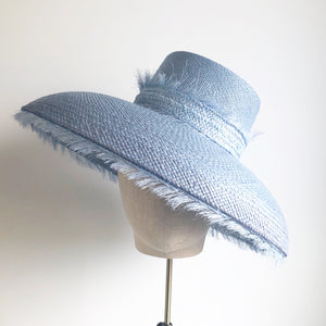 Powder blue Dior brim