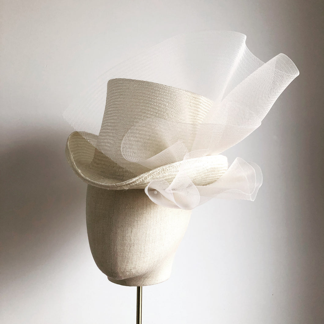 Ivory Mr Brownstone top hat