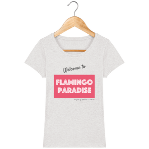 T-shirt femme WELCOME TO FP - Rose