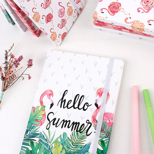 Carnet de notes HELLO SUMMER - Flamingo
