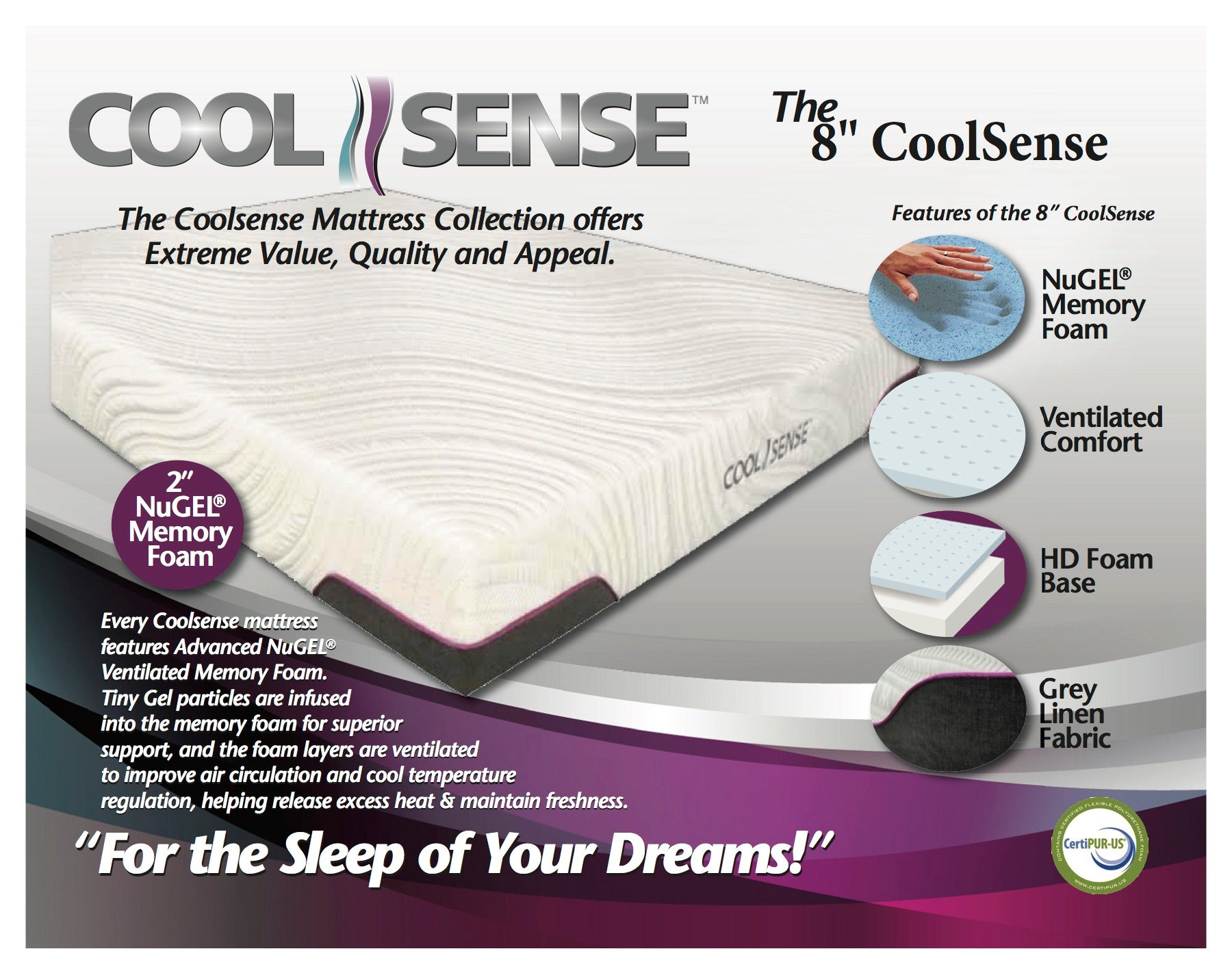 "The 8"" CoolSense"