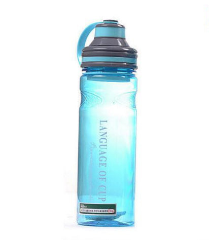 Portable Space Water Bottles for Outdoor Bicycle Cycling Sports Gym Drinking Bottles 600ml/800ml/1000ml Bottle With Tea Infuser