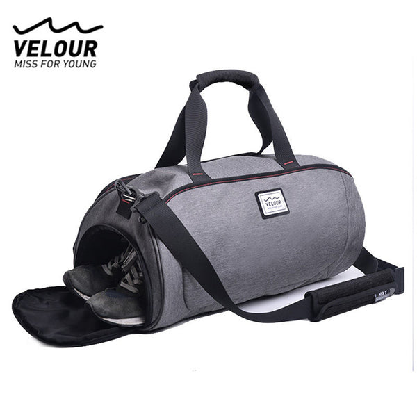 Waterproof Shoulder Sport Gym Bag for Shoes Storage Women Fitness Yoga Training Bags Men's Gymnastic Handbag Crossbody X584YL