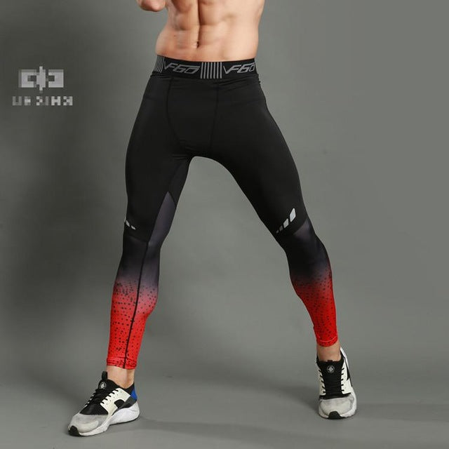 d430637067 ... GANYANR Brand Running Tights Men Sports Leggings Sportswear Long  Trousers Yoga Pants Winter Fitness Compression Sexy. unisex-gym