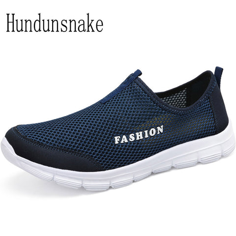 Hundunsnake Running Shoes For Men Sneakers 2018 Sport Mesh Breathable Summer Barefoot Gym Shoe Male Krasovki Adult Gumshoes T236