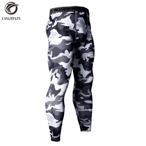 14 Colors Brand Camo Compression Pants Men Sport Wear Jogging Pants Men Sports Leggings Training Pants Gym Man Running Tights